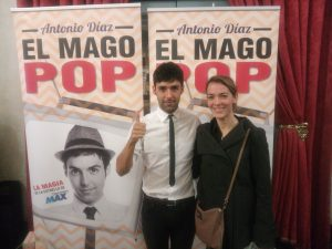 El Mago Pop con Conchita
