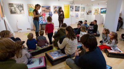 """Cuentacuentos """"El monstruo de colores"""" en el Foro Solidario"""