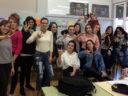 Finalizó el taller de Lengua de Signos en el IES Enrique Flórez