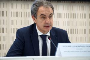 José Luis Rodríguez Zapatero clausurando el Foro