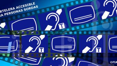 Un año más, las personas sordas no podrán participar en la fiesta del cine