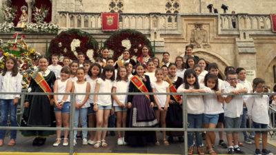 Los niños de ARANSBUR vuelven a estar presentes en el Himno a Burgos
