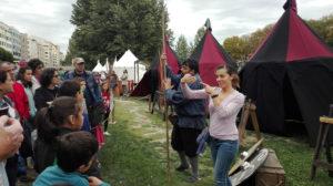 Visita al campamento medieval