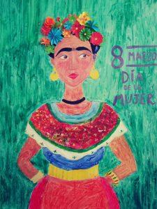 Cuadro de Frida