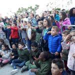 Numerosos niños entre el público asistente