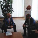 Reunión con el presidente de las Cortes