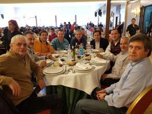 Familia de Aransbur en el Almuerzo Convivencia