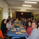foto de familia en la comida