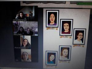 Jóvenes de ARANSBUR protagonistas del libro Isabel