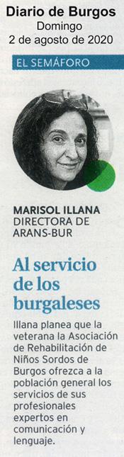 Marisol, al servicio de los burgaleses