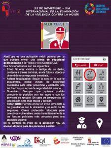 Cartel explicativo de AlertCops
