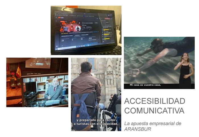 trabajos de accesibilidad comunicativa